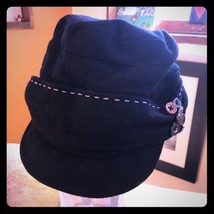 black San Diego Hat Wool Cap